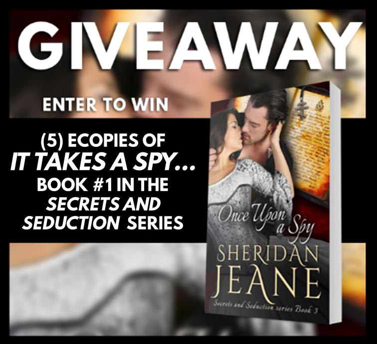 Once Upon a Spy RB Giveaway Graphic
